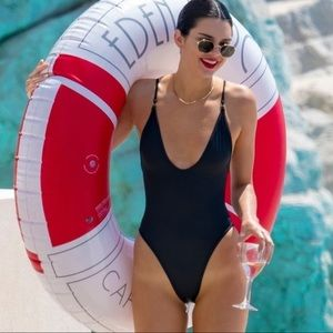 Other - NEW black one piece swimsuit
